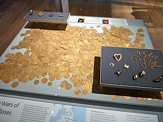 Fishpool Hoard - The Hoard today in the British Museum.