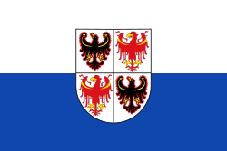 Flag of Trentino-South Tyrol.svg