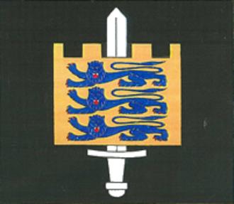 Estonian Land Forces - Image: Flag of the Estonian Land Forces