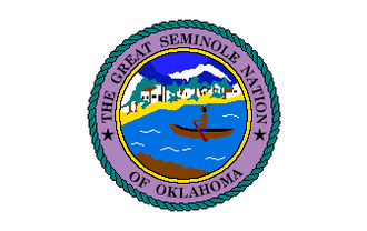 Seminole Nation of Oklahoma - Image: Flag of the Seminole Nation of Oklahoma