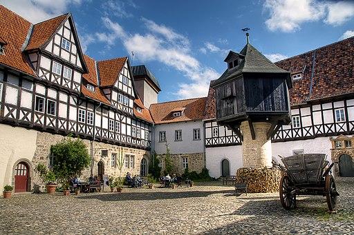 Fleischhof in Quedlinburg (UNESCO-Welterbe in Sachsen-Anhalt)
