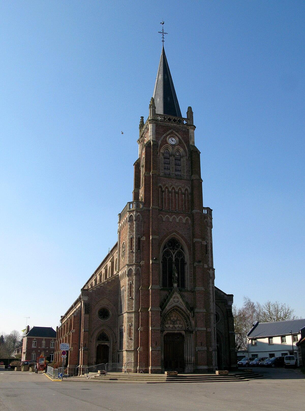 Glise saint eustache de flesselles wikip dia for Architecte st eustache