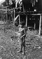 Flicka med liten syster. Darién, Sambú River. Panama - SMVK - 004113.tif