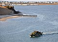 Flickr - Official U.S. Navy Imagery - A riverine command boat moves across the water..jpg