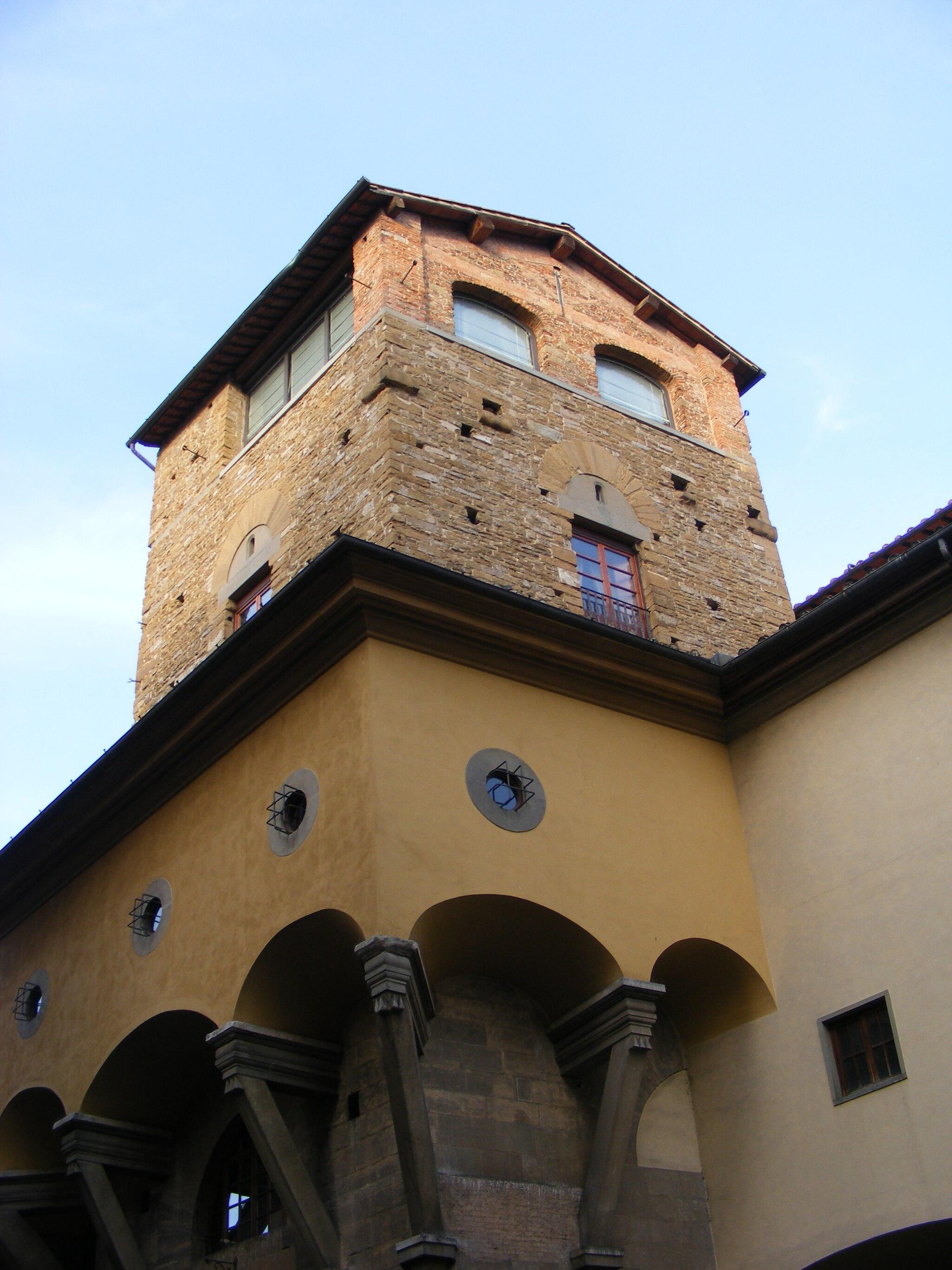 Ponte Vecchio, Torre dei Mannelli