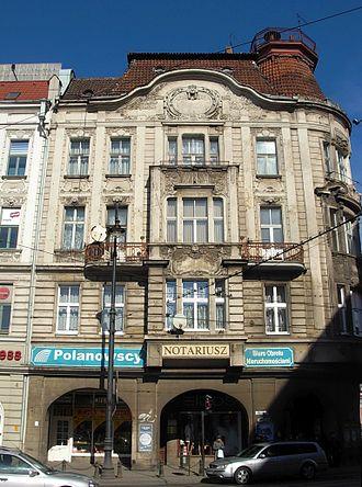 Max Zweininger Building - Southern facade