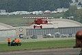 Fokker DVII Ernst Udet Hard Landing 04 Over XC-99 Dawn Patrol NMUSAF 26Sept09 (14619982413).jpg