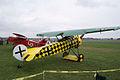 Fokkers D.VIII D.VII Dr.I Dawn Patrol NMUSAF 26Sept09 (14413327729).jpg