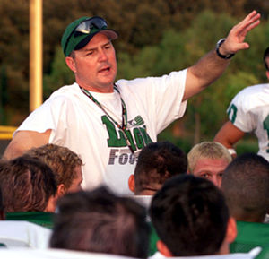 Todd Dodge - Dodge speaks to a team at Southlake Carroll High School