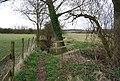 Footbridge across a stream, Parsonage Farm - geograph.org.uk - 1210557.jpg