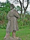 Soleca soldata Statuo per Carl Conrads, Hartford, CT - oktobro 2011.JPG