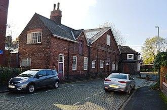 Bath Street drill hall, Warrington - Bath Street drill hall