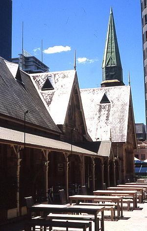 North Sydney Technical High School - Former North Sydney Technical High School building (now Greenwood Hotel)