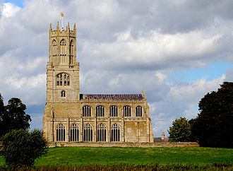 Church of St Mary and All Saints, Fotheringhay - Image: Fotheringhay church