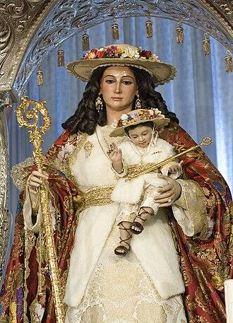 Aljaraque - Image: Foto virgen de los remedios 2009