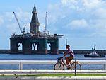 "Fotos de la La Plataforma petrolifera ""Eirik Raude"" en Las Palmas de Gran Canaria (8091403589).jpg"