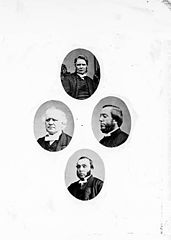 Four ministers of the Gospel