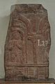 Fragment Carved with Man with Folded Hands - ACCN I-27 - Government Museum - Mathura 2013-02-24 6197.JPG