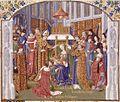 Français 2629, fol. 300, Couronnement de Gui de Lusignan.jpeg