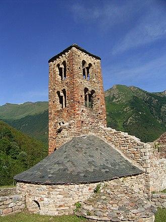 Mérens-les-Vals - The church in Mérens-les-Vals