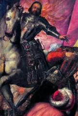 Francesco II Gonzaga at the battle of Taro