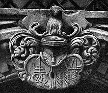 Frankfurt Altstadt-Goldene Waage-Wappen.jpg
