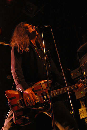 Fred Cole (musician) - Cole performing in 2008