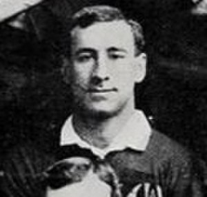 Fred Roberts (rugby union) - Fred Roberts in 1908