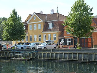 Frederiksholms Kanal - The Storage Keeper's House