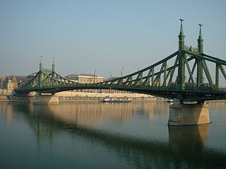 Bridge over the Danube in Budapest