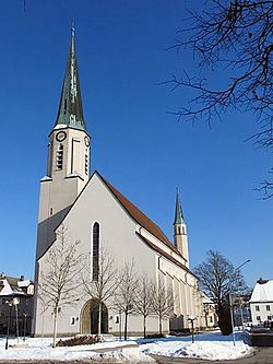 Church in Freilassing