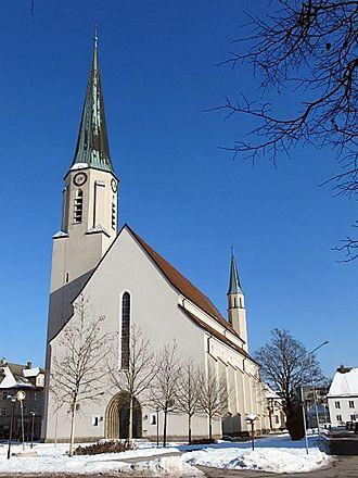 Freilassing - Saint Rupert Church in Freilassing