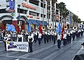 Fremont Street Experience - Coronado Cougar Marching Band (8953543444).jpg