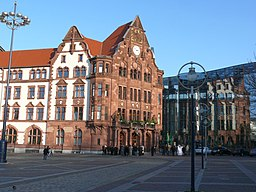 Friedensplatz in Halle