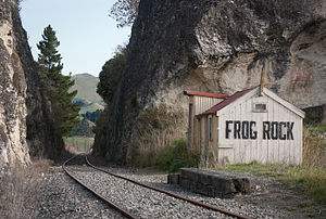 Weka Pass - Frog Rock