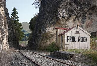 Waiau Branch - Frog Rock.