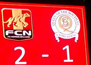 FC Nordsjælland - Image: Full time score 01