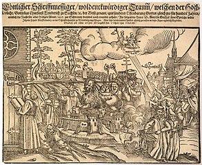 1617 Reformation centenary broadsheet (Göttlicher Schrifftmessiger)