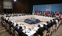 G20 Turkey Leaders Summit - Working Dinner (22634210727).jpg