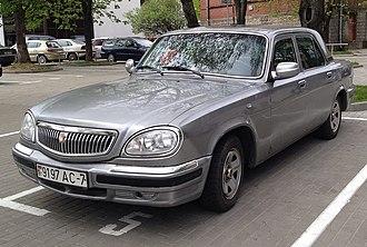 """GAZ-31105 - Image: GAZ 31 """"Volga"""" in Minsk"""