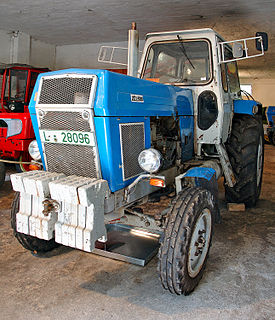 Fortschritt ZT 300 series of 20 kN agricultural tractors