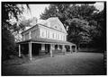 GENERAL VIEW OF WEST FRONT FROM NORTHWEST - Cedar Grove, Landsdowne Drive, Philadelphia, Philadelphia County, PA HABS PA,51-PHILA,231-9.tif