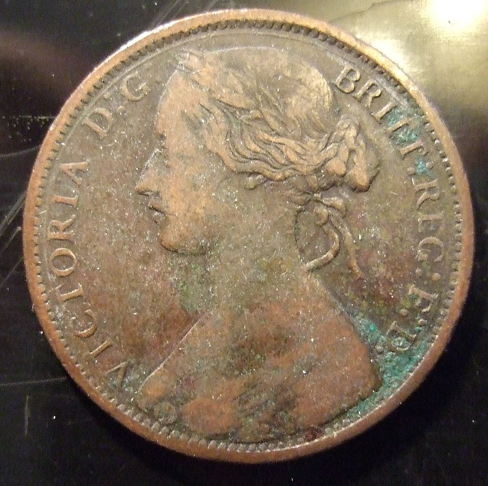 GREAT BRITAIN, VICTORIA 1866 -ONE PENNY b - Flickr - woody1778a