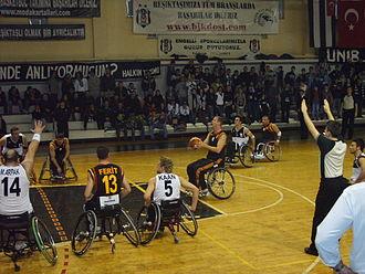 Galatasaray S.K. (wheelchair basketball) - Galatasaray vs Beşiktaş - Feb 17, 2007