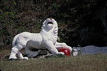 GUN SIGNAL STATION LION - BARBADOS