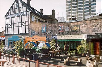 South Bank - Gabriel's Wharf in 2000