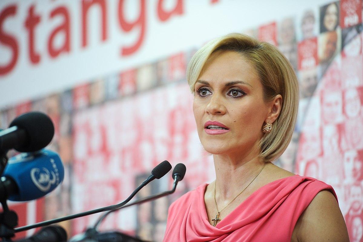 Gabriela Firea își retrage candidatura - GAZETA de SUD  |Gabriela Firea