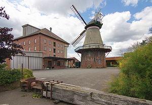 Galerieholländerwindmühle von 1857 in Dörverden IMG 9272.jpg