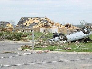 Tornado outbreak of April 6–8, 2006 - Image: Gallatintornado 2