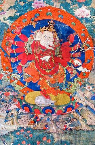 Ganesha in world religions - Ganapati, Maha Rakta